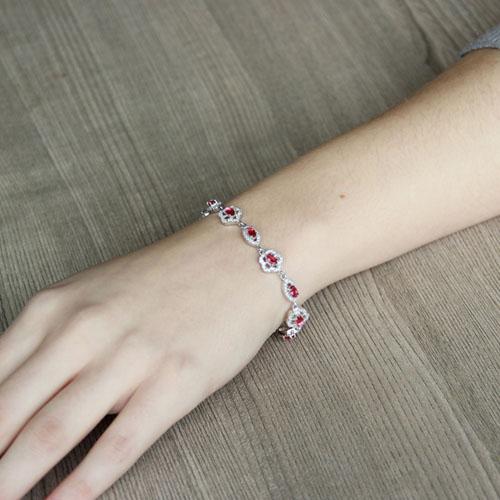 bracelet femme argent zirconium 9500203 pic4