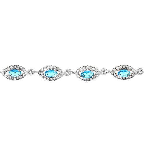 bracelet femme argent zirconium 9500204 pic2