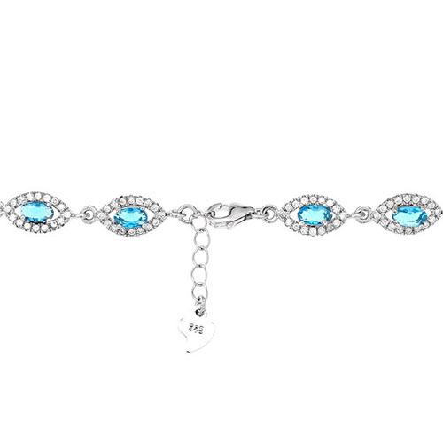 bracelet femme argent zirconium 9500204 pic3
