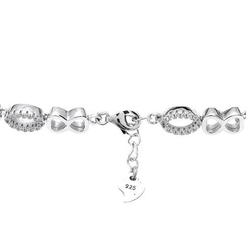 bracelet femme argent zirconium 9500205 pic3