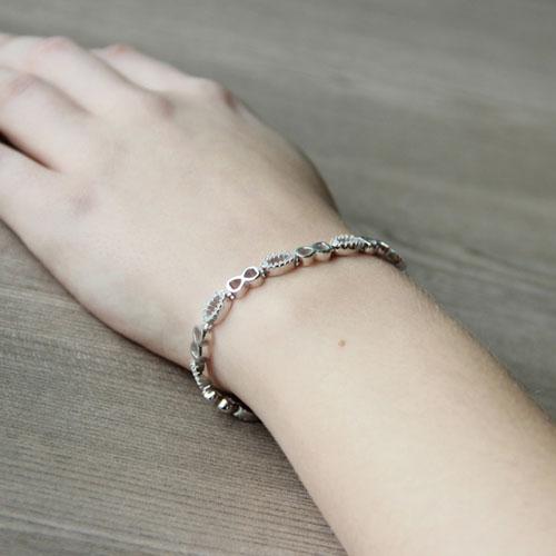 bracelet femme argent zirconium 9500205 pic5