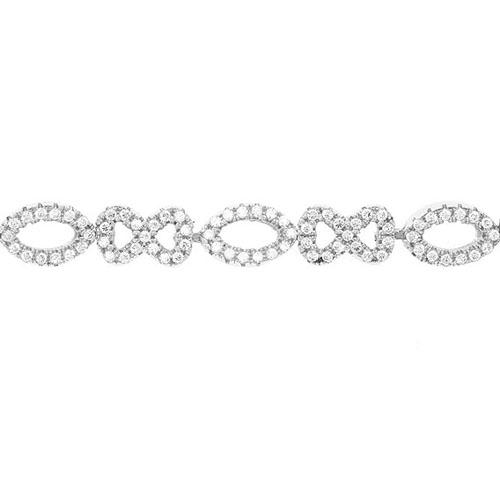 bracelet femme argent zirconium 9500207 pic2