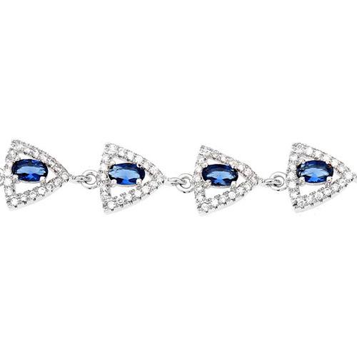 bracelet femme argent zirconium 9500208 pic2