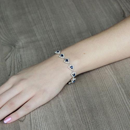 bracelet femme argent zirconium 9500208 pic4