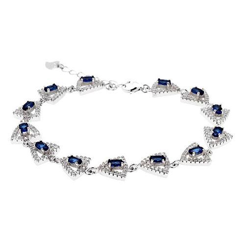 bracelet femme argent zirconium 9500208