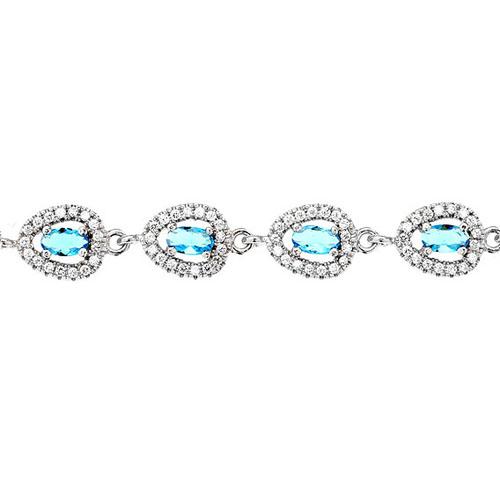 bracelet femme argent zirconium 9500210 pic2