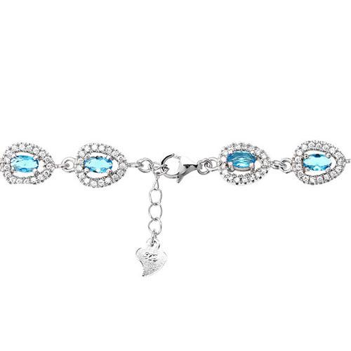 bracelet femme argent zirconium 9500210 pic3