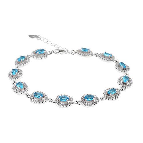 bracelet femme argent zirconium 9500210