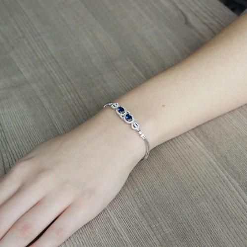 bracelet femme argent zirconium 9500212 pic4