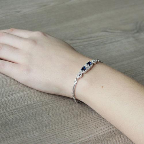bracelet femme argent zirconium 9500212 pic5