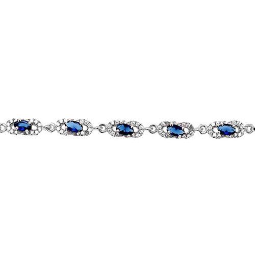 bracelet femme argent zirconium 9500215 pic2