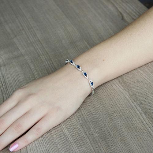 bracelet femme argent zirconium 9500215 pic4