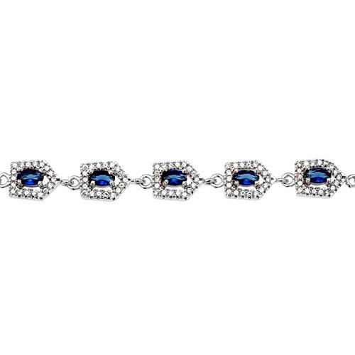 bracelet femme argent zirconium 9500216 pic2