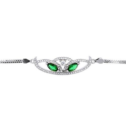 bracelet femme argent zirconium 9500217 pic2