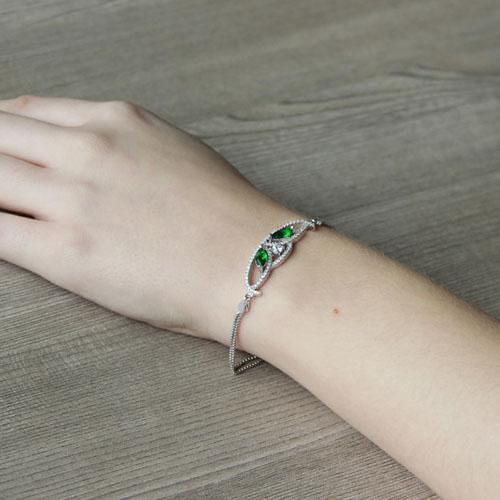 bracelet femme argent zirconium 9500217 pic5