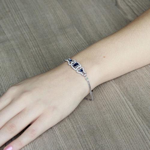 bracelet femme argent zirconium 9500218 pic4