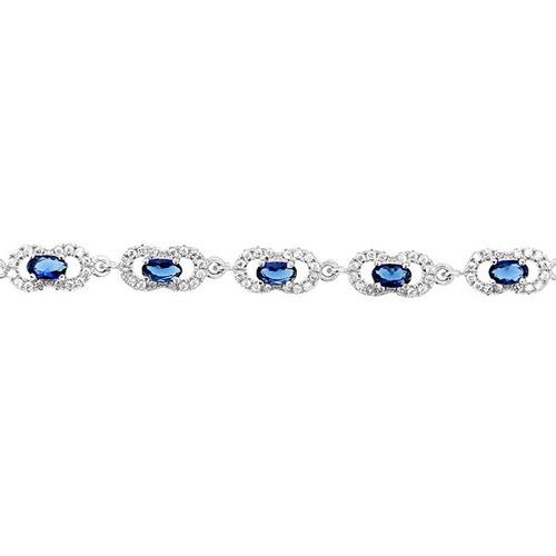 bracelet femme argent zirconium 9500220 pic2