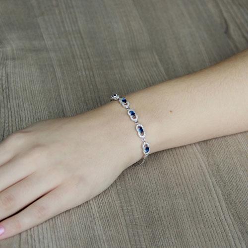 bracelet femme argent zirconium 9500220 pic4