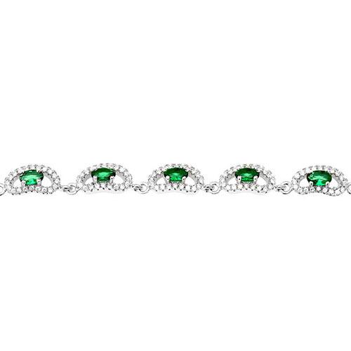 bracelet femme argent zirconium 9500221 pic2