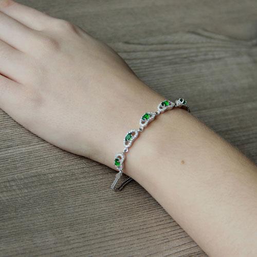 bracelet femme argent zirconium 9500221 pic5