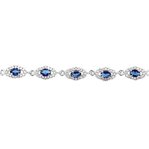 bracelet femme argent zirconium 9500222 pic2