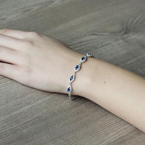 bracelet femme argent zirconium 9500222 pic5