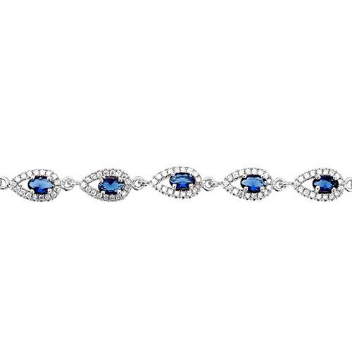 bracelet femme argent zirconium 9500225 pic2