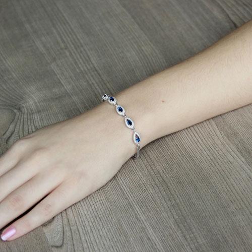 bracelet femme argent zirconium 9500225 pic4