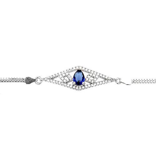 bracelet femme argent zirconium 9500228 pic2