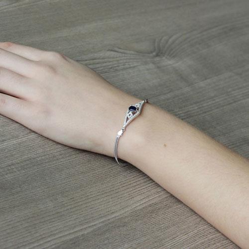 bracelet femme argent zirconium 9500228 pic5