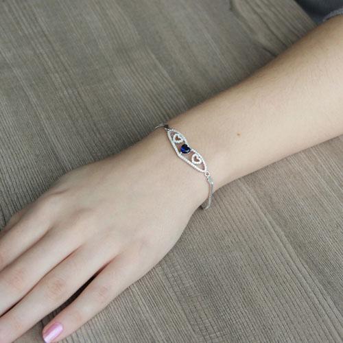 bracelet femme argent zirconium 9500233 pic4