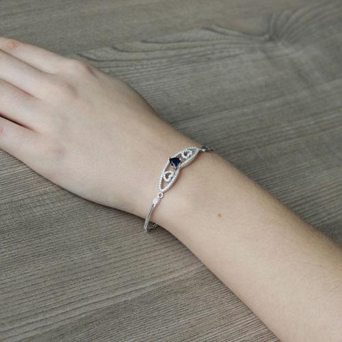 bracelet femme argent zirconium 9500233 pic5