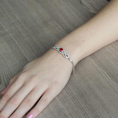 bracelet femme argent zirconium 9500234 pic4