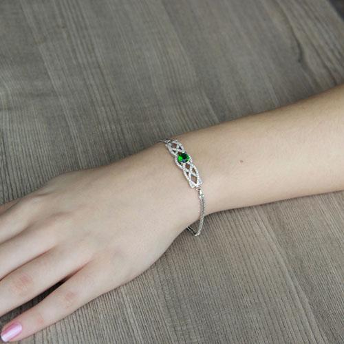 bracelet femme argent zirconium 9500238 pic4