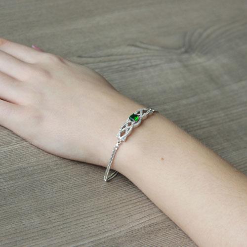 bracelet femme argent zirconium 9500238 pic5