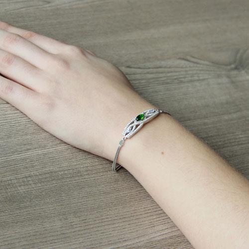 bracelet femme argent zirconium 9500239 pic5
