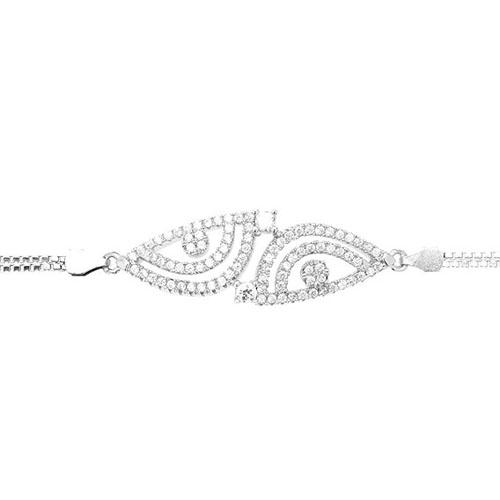 bracelet femme argent zirconium 9500240 pic2