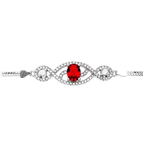 bracelet femme argent zirconium 9500245 pic2