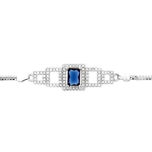 bracelet femme argent zirconium 9500246 pic2
