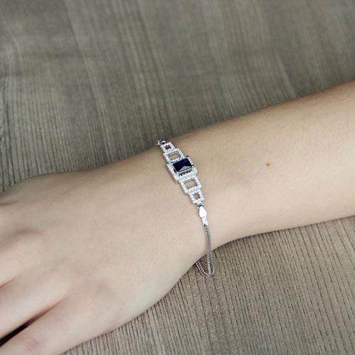 bracelet femme argent zirconium 9500246 pic4