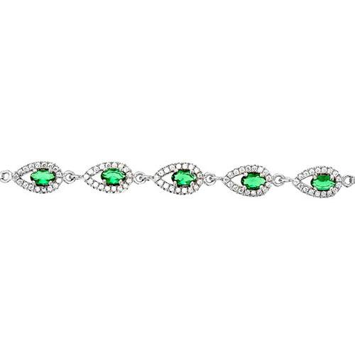 bracelet femme argent zirconium 9500249 pic2