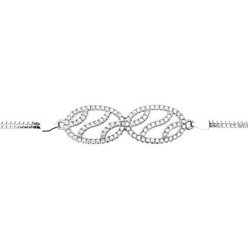 bracelet femme argent zirconium 9500250 pic2