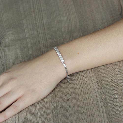bracelet femme argent zirconium 9500252 pic4