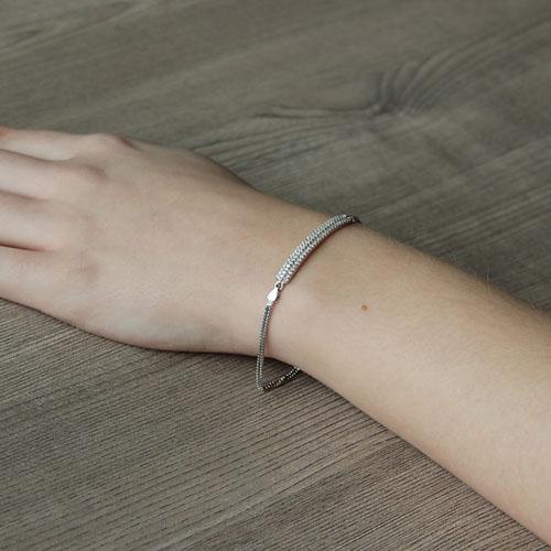 bracelet femme argent zirconium 9500252 pic5