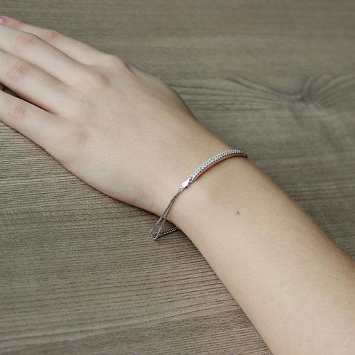 bracelet femme argent zirconium 9500254 pic5