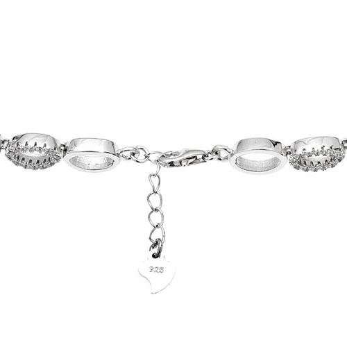 bracelet femme argent zirconium 9500255 pic3