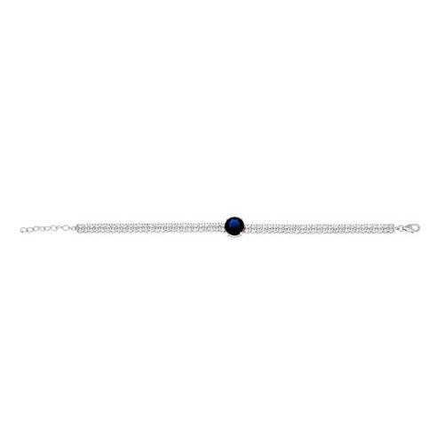 bracelet femme argent zirconium 9500256