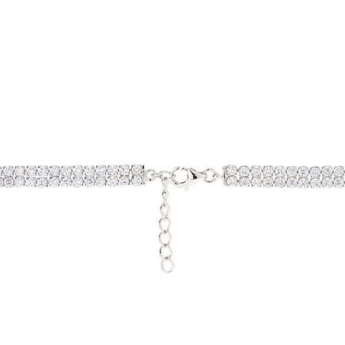 bracelet femme argent zirconium 9500257 pic3