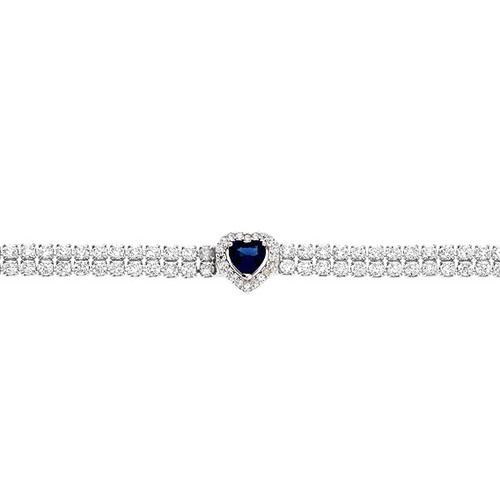 bracelet femme argent zirconium 9500258 pic2
