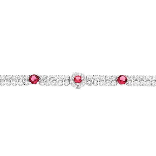 bracelet femme argent zirconium 9500260 pic2